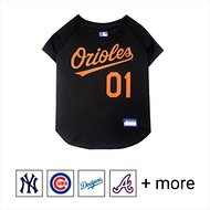 Pets First MLB Dog & Cat Jersey, Baltimore Orioles, X-Large