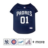 Pets First MLB Dog & Cat Jersey, San Diego Padres, Large