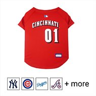 Pets First MLB Dog & Cat Jersey, Cincinnati Reds, Large