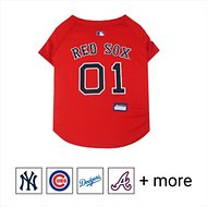 Pets First MLB Dog & Cat Jersey, Boston Red Sox, Large