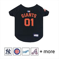 Pets First MLB Dog & Cat Jersey, San Francisco Giants, Large