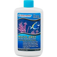 Dr. Tim's Aquatics Waste-Away Natural Aquarium Cleaner for Saltwater Aquariums, 8-oz bottle