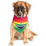 Dog Fashion Living I'm Pro-Love Dog & Cat Bandana