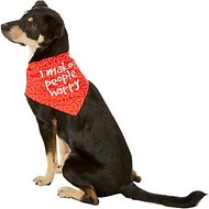 Dog Fashion Living I Make People Happy Dog & Cat Bandana