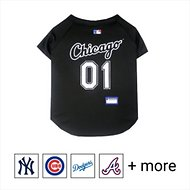 Pets First MLB Dog & Cat Jersey, Chicago White Sox, Medium