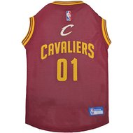 Pets First Cleveland Cavaliers Mesh Dog & Cat Jersey, Large