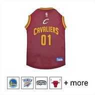 Pets First Cleveland Cavaliers Mesh Dog & Cat Jersey, X-Large