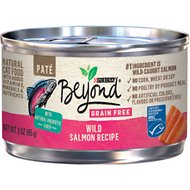Purina Beyond Grain-Free Wild Salmon Pate Recipe Canned Cat Food