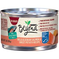 Purina Beyond Grain-Free Salmon & Sweet Potato Recipe in Gravy Canned Cat Food, 3-oz, case of 12