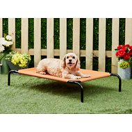 Frisco Steel-Framed Elevated Pet Bed, Terracotta, Medium
