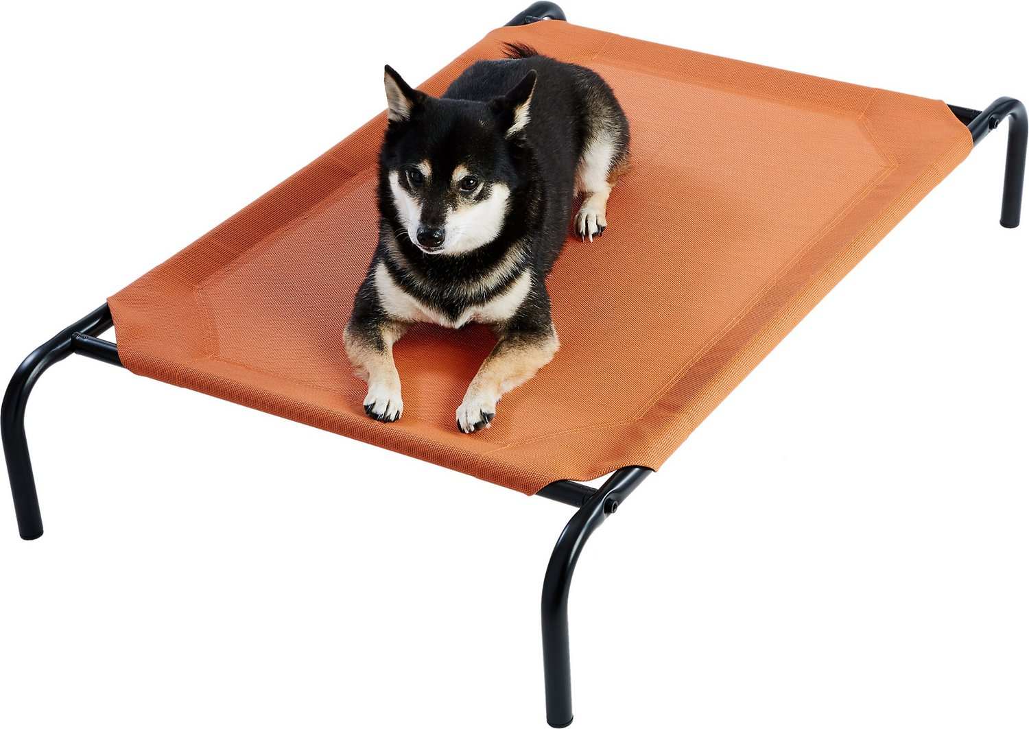 Frisco Steel Framed Elevated Pet Bed Terracotta Medium