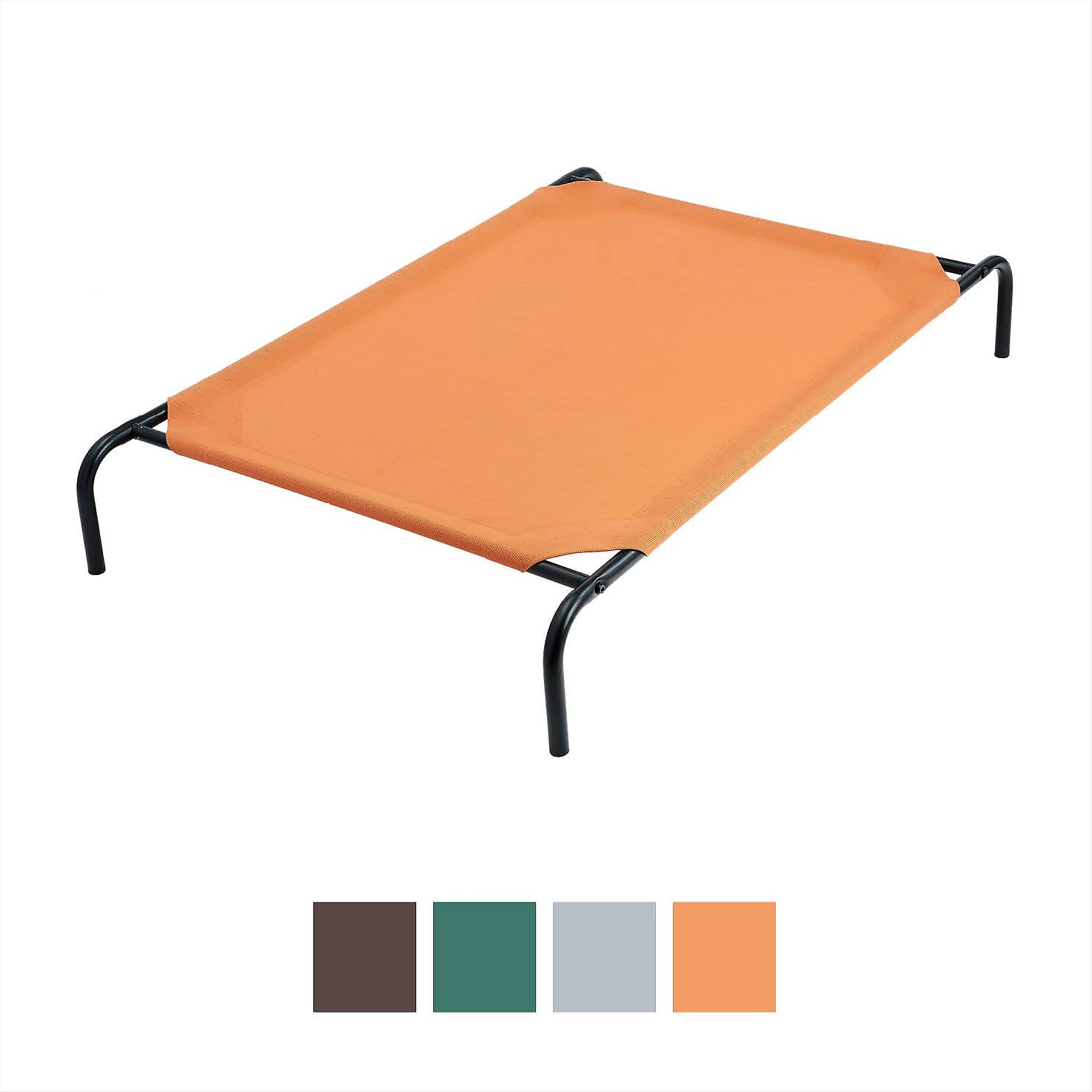 Frisco Steel Framed Elevated Pet Bed Terracotta Large