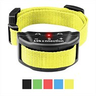 K9konnection No Bark Training Shock Dog Collar, Yellow