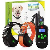 K9konnection Remote Controlled Training Shock Dog Collar, 2 dogs