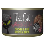 Tiki Cat After Dark Chicken & Beef Canned Cat Food, 5.5-oz, case of 8