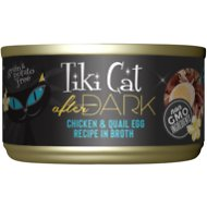 Tiki Cat After Dark Chicken & Quail Canned Cat Food, 2.8-oz, case of 12