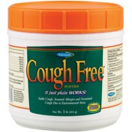 Farnam Cough Free Powder Horse Supplement, 1-lb tub