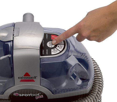 bissell spotbot pet handsfree portable spot u0026 stain carpet cleaner - Bissell Pet Carpet Cleaner