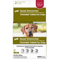 Bayer Quad Large Dog De-Wormer, 2-count