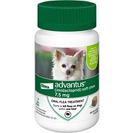 Advantus Small Dog Soft Chew Flea Treatment, 7-count
