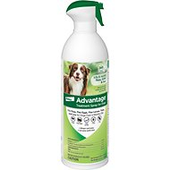 Advantage Flea & Tick Treatment Spray for Dogs, 8-oz bottle