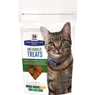 Hill's Prescription Diet Metabolic Weight Management Cat Treats, 2.5-oz bag