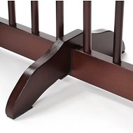 Primetime Petz Support Feet for 360 Configurable Pet Gate, 2 pack, Walnut