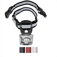 Puplight 2 Reflective Dog Safety Collar, Silver