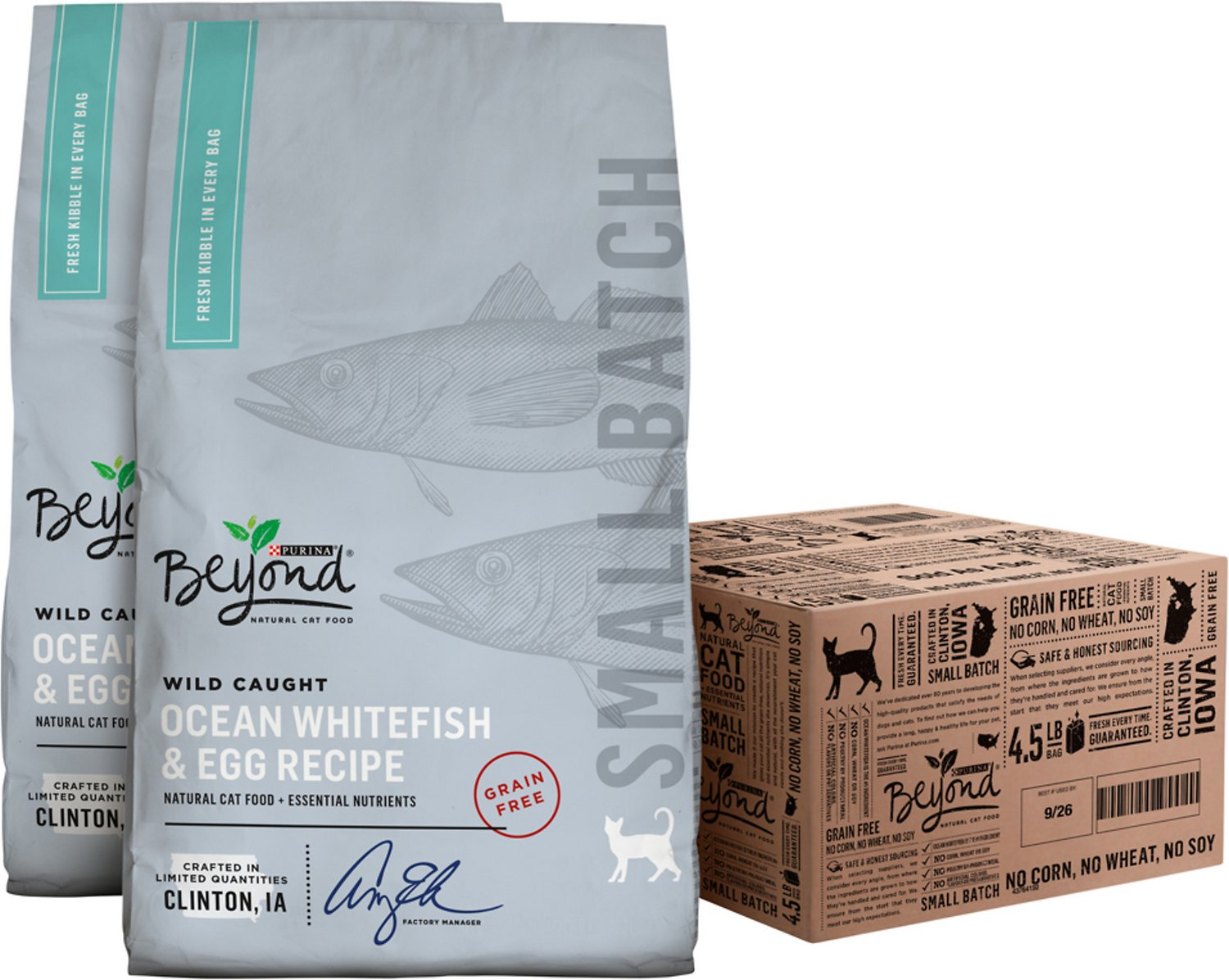 Purina beyond small batch wild caught ocean whitefish egg recipe video forumfinder Choice Image