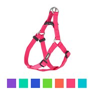 Blueberry Pet Classic Solid Nylon Step In Back Clip Dog Harness
