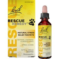 Rescue Remedy Stress Relief Pet Supplement, 20-mL bottle