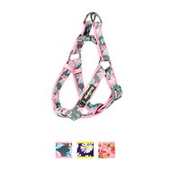 Blueberry Pet Floral Prints Dog Harness, Rose, Medium