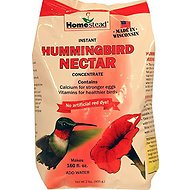 Homestead Hummingbird Natural Red Powder Nectar Concentrate, Red, 2-lb