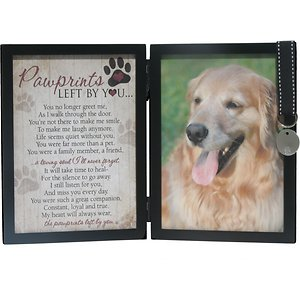 Pawprints Left by You Dog Picture Frame, 5 x 7