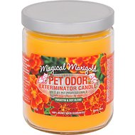Pet Odor Exterminator Magical Marigold Deodorizing Candle, 13-oz jar