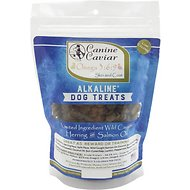 Canine Caviar Omega 3:6:9 Skin and Coat Alkaline Limited Ingredient Grain-Free Dog Treats, 9-oz bag