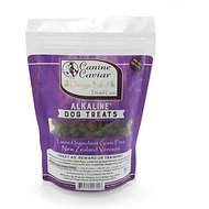 Canine Caviar Omega 3:6:9 Dental Care Alkaline Limited Ingredient Grain-Free Dog Treats, 9-oz bag