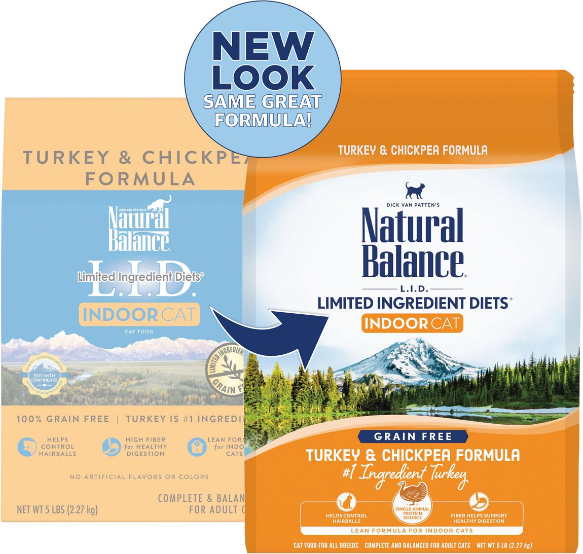 54bffd5027 Natural Balance L.I.D. Limited Ingredient Diets Indoor Grain-Free ...