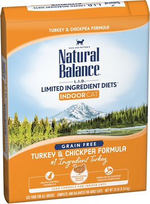 7. Natural Balance L.I.D. Limited Ingredient Diets Indoor Grain-Free