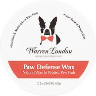 Warren London Dog Paw Defense Wax, 2-oz jar