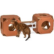 Catty Stacks Modular Cat Condo, Chocolate Brown