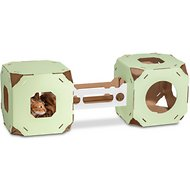 Catty Stacks Modular Cat Condo, Green