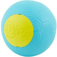 GoDog RhinoPlay Beast Yellow & Teal Dog Toy, Regular