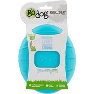 GoDog RhinoPlay Flip Dog Toy, Regular, Teal