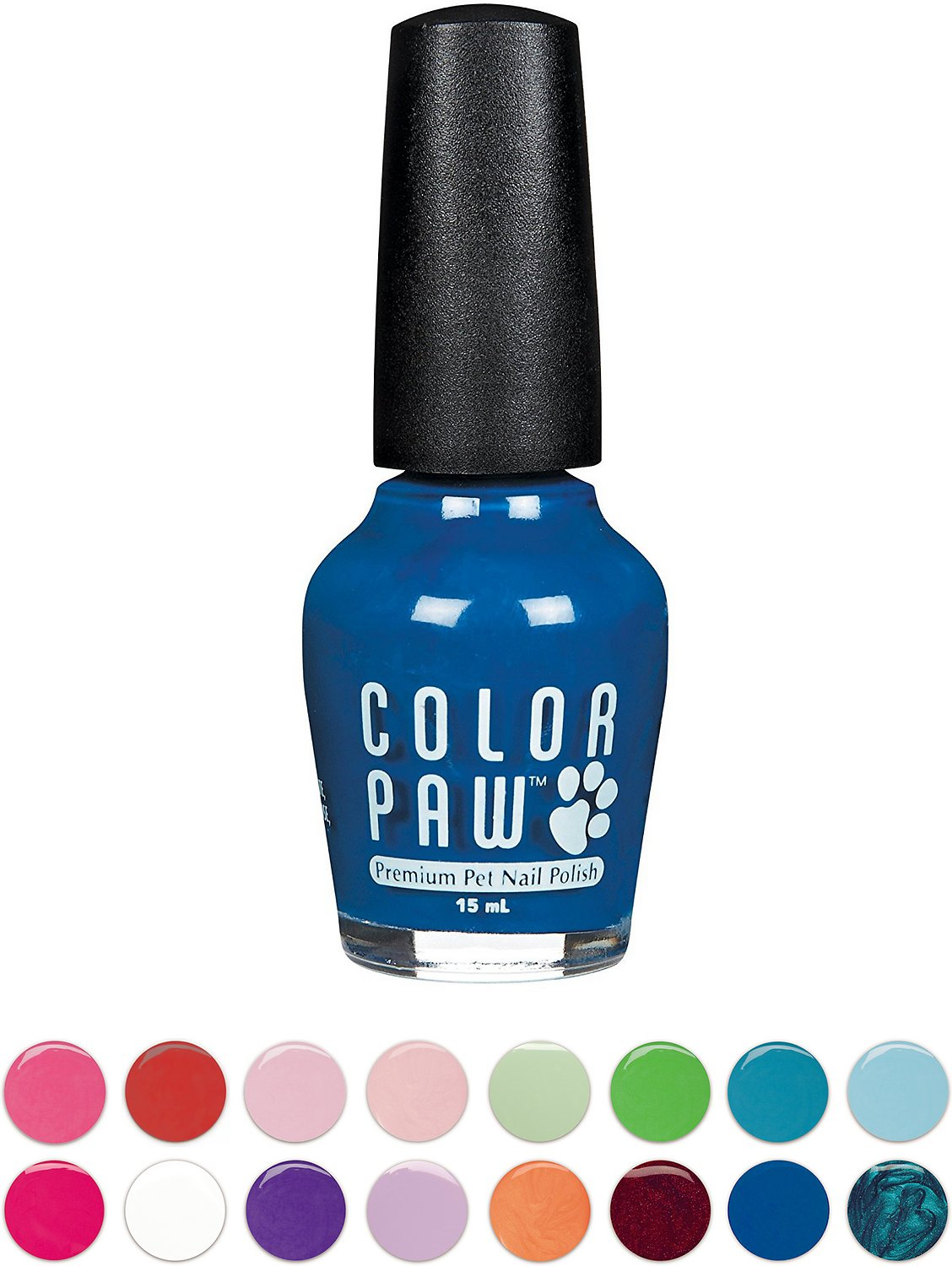 Color Paw Dog Nail Polish Blue Burst Chewy Com