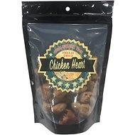 Chasing Our Tails Single Ingredient Chicken Heart Freeze-Dried Dog Treats, 3-oz bag