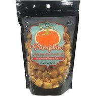 Chasing Our Tails Single Ingredient Pumpkin Freeze-Dried Dog Treats, 1.75-oz bag