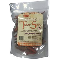 Chasing Our Tails Single Ingredient Tater Stix Sweet Potato Dog Treats, 20-oz bag