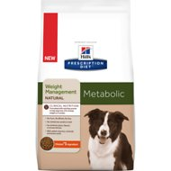 Hill's Prescription Diet Metabolic Weight Management Natural with Chicken Dry Dog Food, 8-lb bag