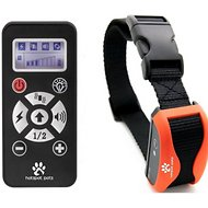 Hot Spot Pets Wireless Waterproof & Rechargeable Long Range Dog Training Collar, Orange